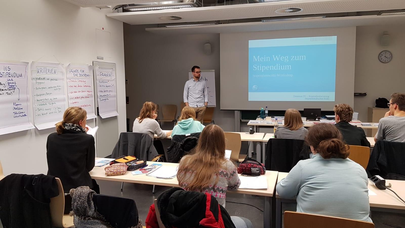 Stipendienwahl-Workshop an der HRW