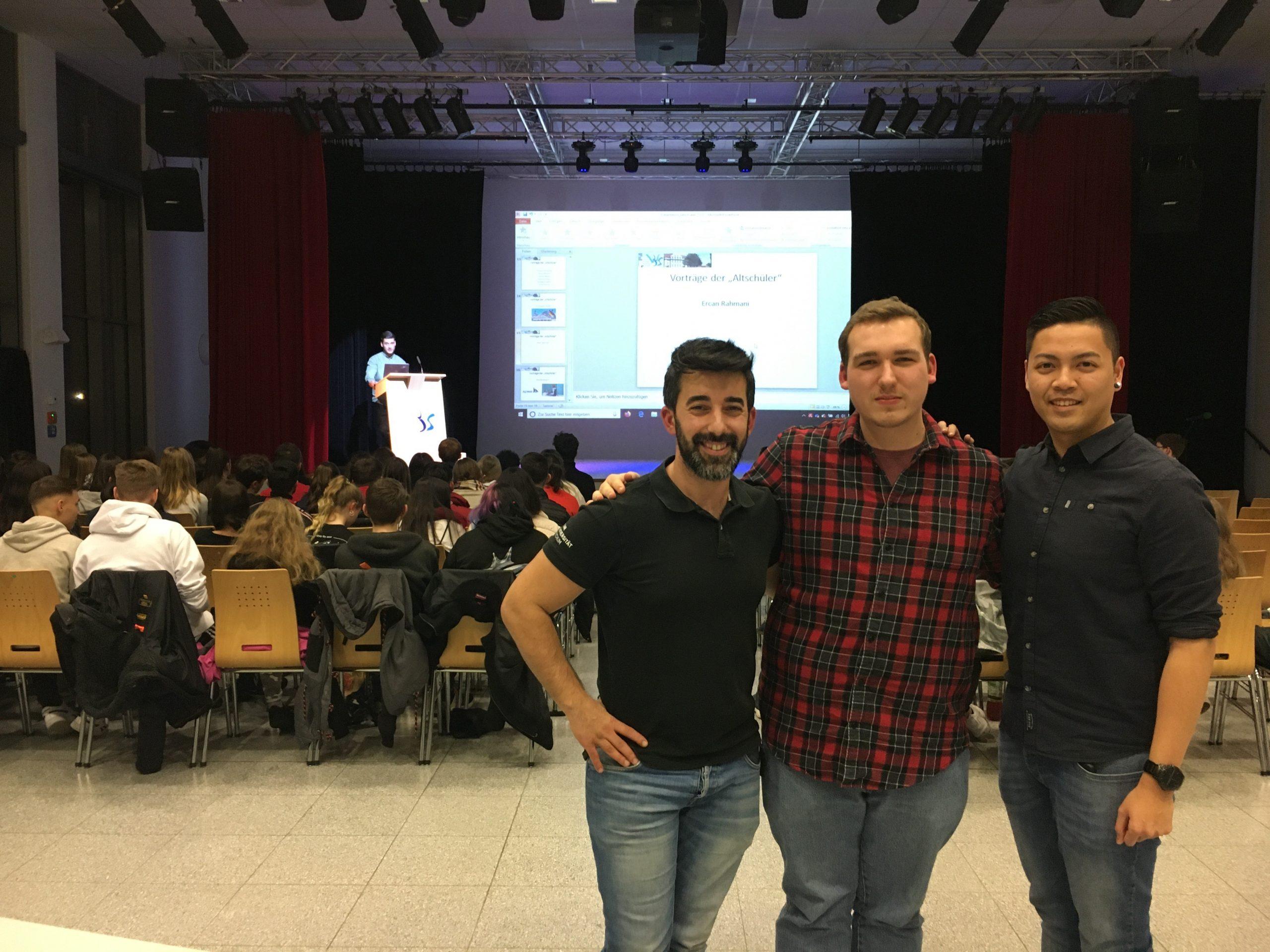 Alumni-Treffen an der Willy-Brandt-Schule