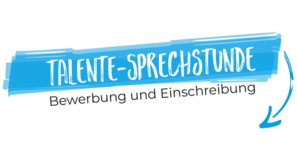 Talente-Sprechstunde: Bewerbung und Zulassung