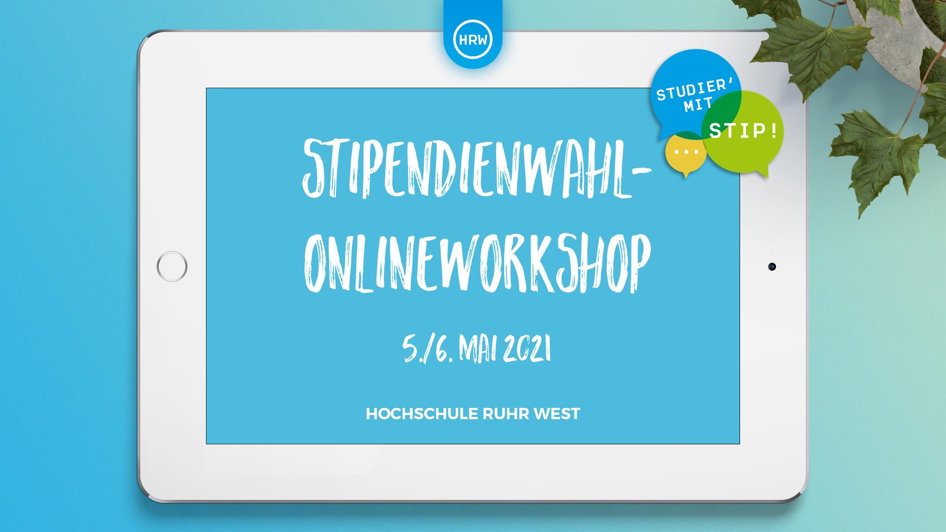 Stipendienwahl-Onlineworkshops der HRW